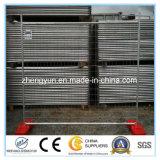携帯用鋼鉄一時塀、金属の塀、金網の塀