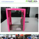 Peças coloridas aço personalizadas da fabricação de metal da folha da alta qualidade da precisão