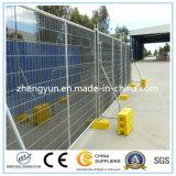 Hot-DIP電流を通すコンクリートブロックおよびクランプが付いている一時塀のパネル