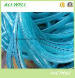 Волокна шланга воды PVC трубопровод трубы шланга сада пластичного гидровлического прозрачного Braided