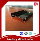 6063 profil en aluminium fait sur commande d'extrusion d'Industial d'usine de T5 T6 pour le guichet