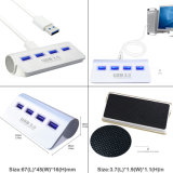 USB3.0 4 Port Superspeed Hub com luz LED