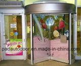 Populärer kreativer Entwurfs-GlasDrehtür mit guter Qualität