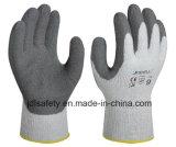Природные Латексные перчатки работы с покрытием для зимы (LT2014)
