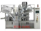 중국 화장품을%s 고속 자동적인 관 충분한 양 그리고 물개 기계