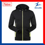 Healong Haut de la vente des vêtements de sports Fashion Veste de survêtement ordinaire de plein air