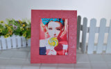 Корея моды девочки - рамка для фотографий из натуральной кожи для подарка (SDB-1314)
