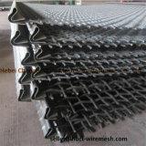 Обжатый провод сетка для добычи полезных ископаемых, вибрации, фильтрация, оформление
