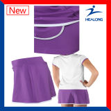 Haut de la vente de vêtements de sport Healong Dry Fit plein de sublimation maillot de tennis