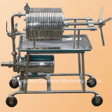Filtre de jus de filtre à huile de Rose Appuyez sur la machine du filtre à huile