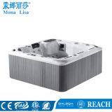 2.2*2.2 mètre acrylique Capacité 5 Personnes bain à remous extérieur SPA (M-3357)