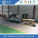 CNC de las puertas de la base de las cabinas produciendo la línea ranurador de madera del CNC