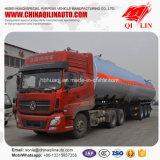 De 3 essieux de camion-citerne remorque liquide chimique semi à vendre