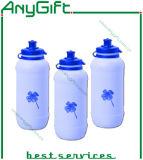 Plastiksport-Flasche mit kundenspezifischem Firmenzeichen und Farbe