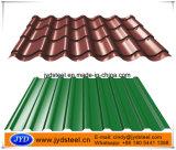 Strato ondulato lustrato del tetto di colore di disegno