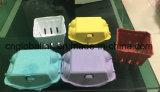 鶏の卵の皿のボール紙の鶏卵箱のPlupの鶏卵箱6の穴の卵の包装の容器