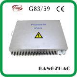 Contenitore solare di combinatrice di PV di protezione contro il fulmine degli input della stringa d'acciaio del modello 16 di Nonrust del fornitore della Cina