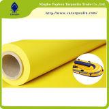 Piscina de lona PVC lona revestida a tela de malha Rolo de toldo 500d lona de PVC