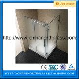 부드럽게 한 샤워 유리 Partion를 판매하는 Ce/CCC/SGS/ISO 증명서 공장