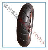 Rodas infláveis de borracha de 8 polegadas, troles pequenos, rodas, rodas do bebê, carros do brinquedo das crianças, rodas e assim por diante