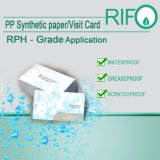 Papier synthétique de qualité supérieure résistant à la graisse par BOPP Plane Materials