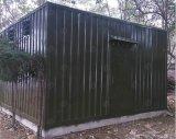 Abrigo de telecomunicações totalmente equipado