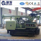 Cingolo idraulico DTH di Hf200y ed impianto di perforazione di trivello geotermico rotativo