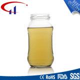 260ml環境の無鉛ガラス蜂蜜の瓶(CHJ8094)