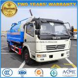 4X2 6トンの販売のための吸引の下水および高圧の洗浄トラック