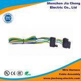 A fábrica fornece os conjuntos de cabo feitos sob encomenda do chicote de fios de fiação