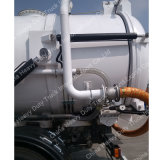 Petrolero de la succión de las aguas residuales de la venta 4*2 5000L Dongfeng de la fábrica con alta presión