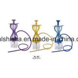 Waterpijp van Shishabucks van de Verkoop van het Aluminium van de Vorm van Shisha Fanstic van de Waterpijp van de Wereld van Colorde de Hete