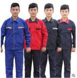 Les femmes 100% d'hommes de coton d'ouvriers de Factroy travaillent de façon générale/uniformes