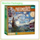 Scheda promozionale di puzzle del puzzle con la casella (BP-BC-0120)
