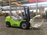2륜 전차 Elevateur 3 톤 종이 롤 죔쇠 포크리프트