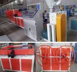 Máquina acanalada de un sólo recinto del tubo del PE del PVC de los PP