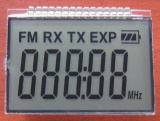 122*32文字のためのStn肯定的なTransflective LCD