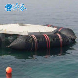 Saco hinchable marina de goma del lanzamiento y del salvamento de la nave para Asia Sur-Oriental