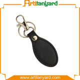 Custom Design Leather Metal Keychain