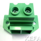 VDE Approved PCB Screw Terminal Block with Side Lock for Anti-Vibration