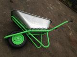 Carrinho de mão de roda do Wheelbarrow Wb6418 do mercado de Rússia para o edifício da construção do jardim