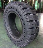 Vollreifen 1600-25 Gabelstapler-Tyre10.00-20, Schlussteil-Gummireifen des Gabelstapler-festen