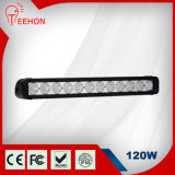 "20 "" CREE 120W Straight Single Row LED Light Bars"