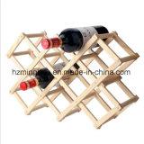 Полки шкафа красного вина цвета журнала держатель бутылки шкафа вина кухни деревянной регулируемый