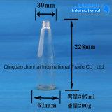 明確な飲料のガラスビンの高いホウケイ酸塩の物質的な耐久財