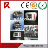 Parafuso prisioneiro de alumínio solar reflexivo impermeável redondo da estrada do diodo emissor de luz da segurança de tráfego de Roadsafe