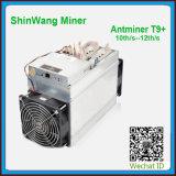 Bitmain T9+ Navires ASIC Miner Hashrate 10E/S-12E/S pour l'exploitation minière Bitcoin -- gratuit Shiping