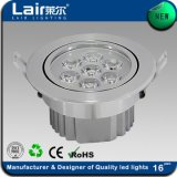 Ultimo Indoor Aluminum 7W LED Ceiling Light con CE RoHS