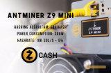 Bitmain Antminer Z9 Mini Miner 10K Sol/S на Equihash 300 Вт микросхемы ASIC Шахтер с добычей полезных ископаемых Zcash