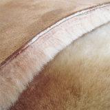 Mulheres de pele de ovelha de Inverno Hat com tampa de orelha